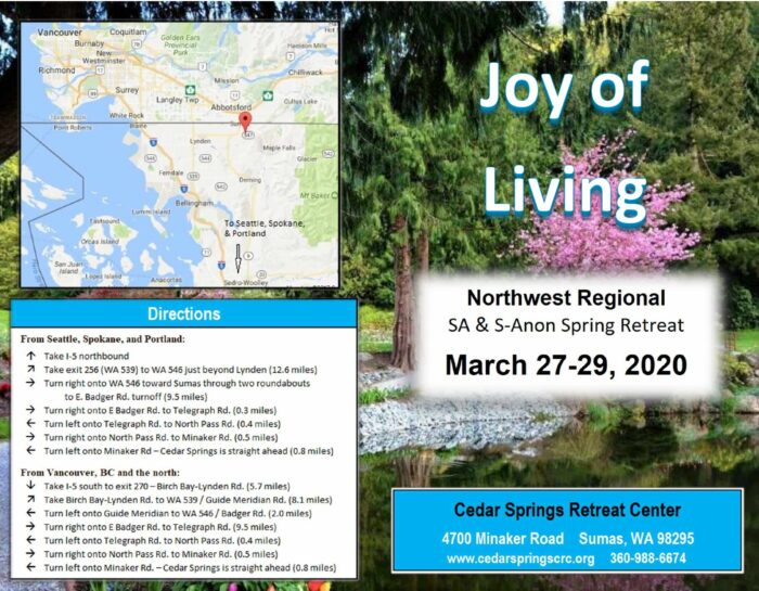 Spring Retreat in March